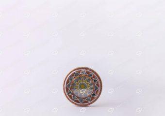 علبة زعفران معدنية - 5 غرام