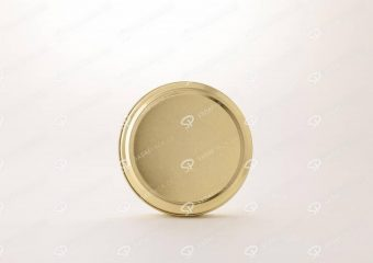 ##tt##-Saffron Metal Container Gold 200 without window