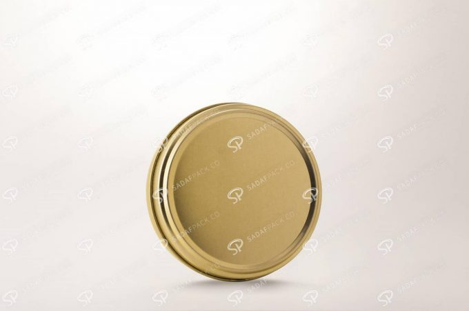 ##tt##-Saffron Metal Container Gold 300 without window