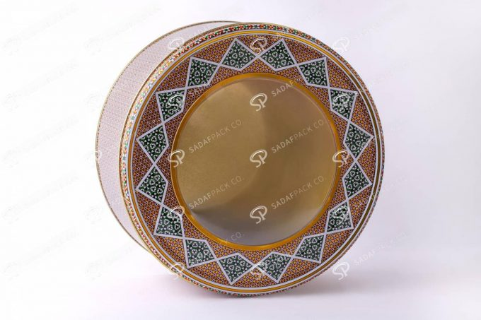 ##tt##-Metal Container - Diameter 23