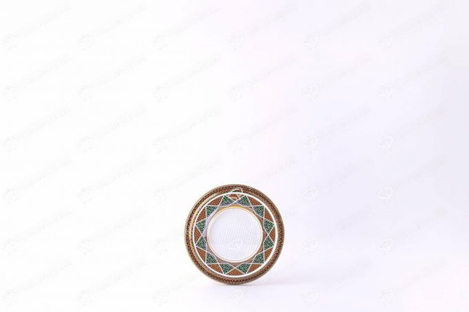 ##tt##-Saffron Metal Container White Bottom Circle 9