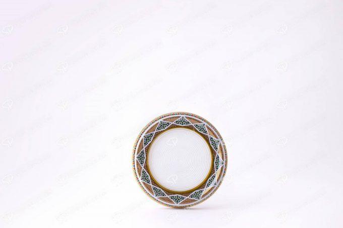 ##tt##-Saffron Metal Container White Bottom Circle 11