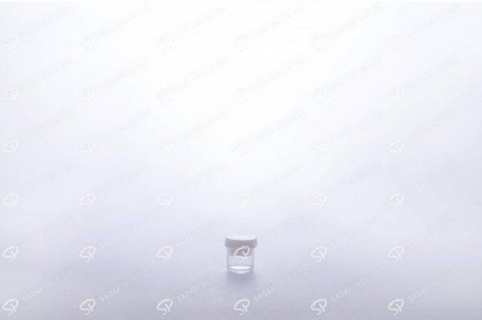 ##tt##-Saffron Powder Crystal Container - Milky Short