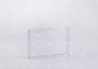 ##tt##-Saffron Rectangular Crystal Container - 3 (10.5)