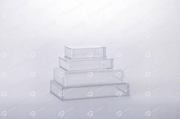 ##tt##-Saffron Rectangular Crystal Container - 3 (10.5)