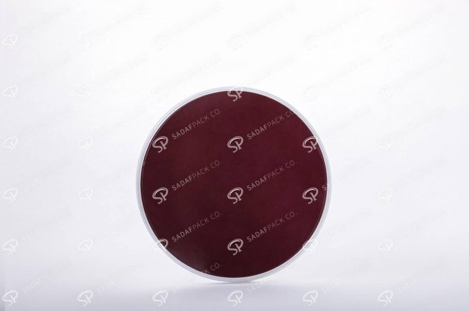 ##tt##-Saffron Crystal White Bottom Container - Round 6 (11 Slim)