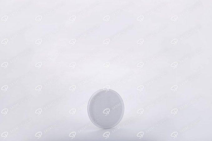 ##tt##-Saffron Crystal White Bottom Container - Round 1 (5 Slim)