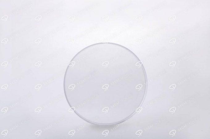 ##tt##-Saffron Crystal Container - Round 10 (11 Flat)
