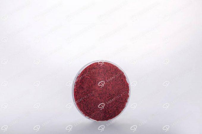 ##tt##-Saffron Crystal Container - Round 7 (9 Flat)
