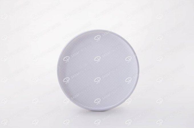 ##tt##-Saffron Crystal White Bottom Container - Deep Round 4 (12)