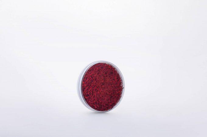 ##tt##-Saffron Crystal White Bottom Container - Deep Round 1 (6.5)