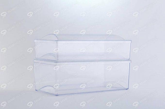 ##tt##-Crystal Container - Convex Designed Rectangular Small