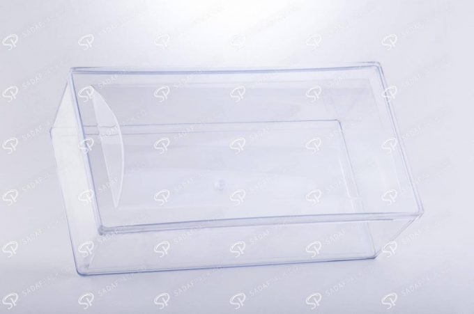 ##tt##-Crystal Container - Convex Designed Rectangular Big