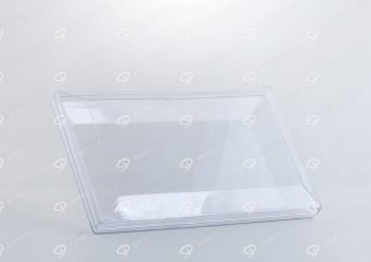 ##tt##-Crystal Container - Transparent Designed Rectangular 200