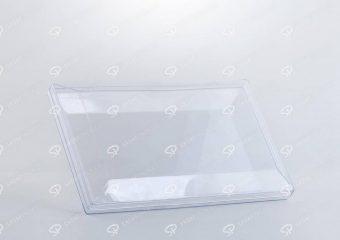 ##tt##-Crystal Container - Transparent Designed Rectangular 200