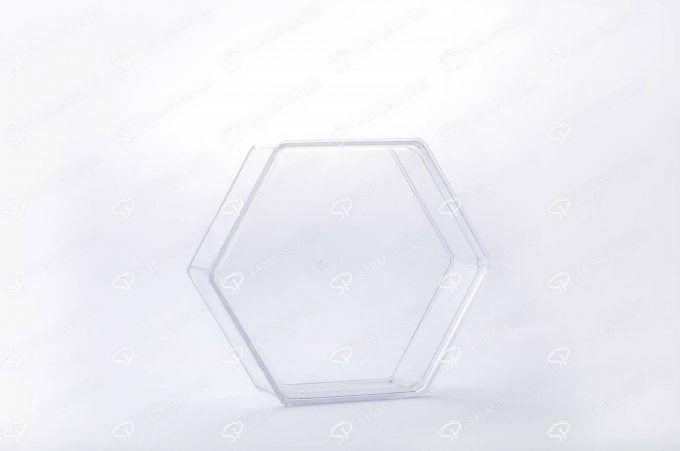 ##tt##-Crystal Container -  Hexagonal Small