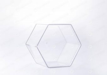 ##tt##-Crystal Container -  Hexagonal Big
