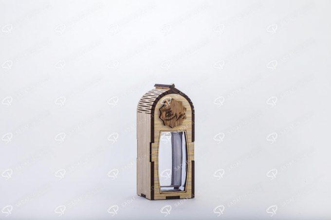 ##tt##-Wooden Saffron Box for Azin Small