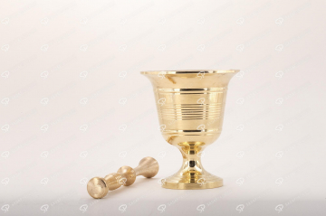 ##tt##-Cup Saffron Mortar - Size 85
