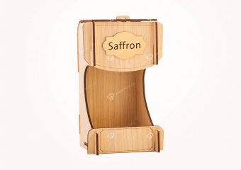 Wooden Saffron Box for Gohar X-Large