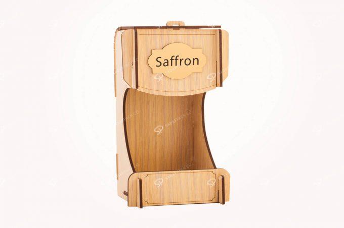 صندوق الزعفران الخشبي لحاوية جوهر حجم كبير جداً