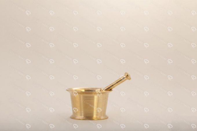 مطحنة/هاون الزعفران التقليدية حجم 65