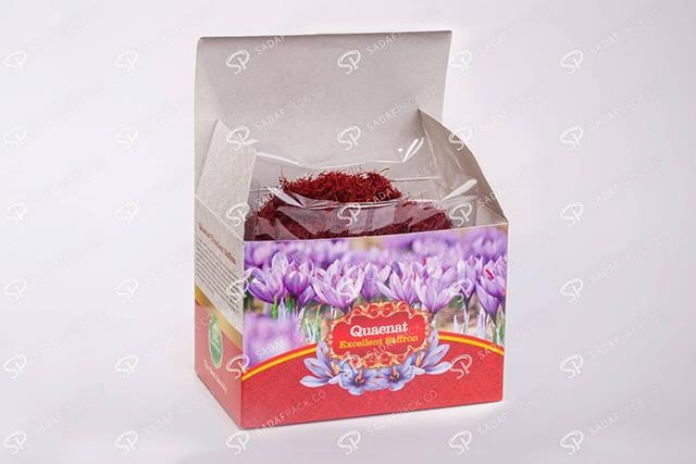 design packing containers of saffron 2