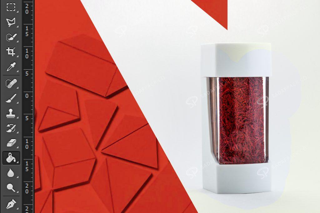 Saffron packaging design 1Saffron packaging design 1