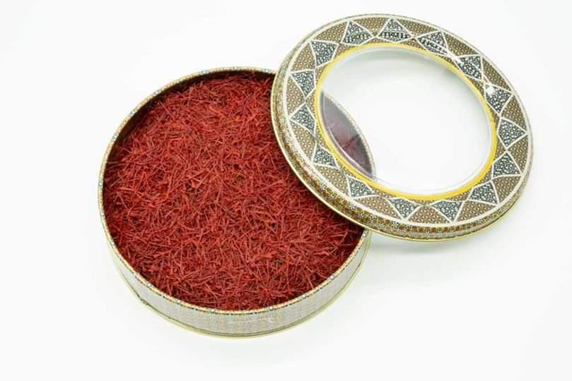 saffron packaging in Afganestan
