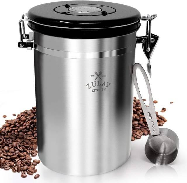 علب تغليف المعدنية التصديرية للقهوة