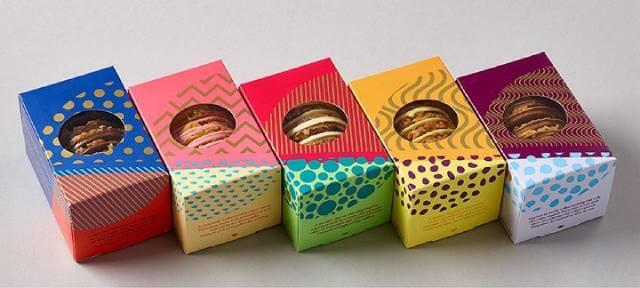 cardboard pastry packaging