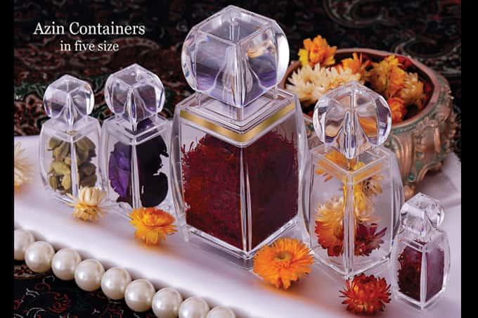 saffron packaging azin