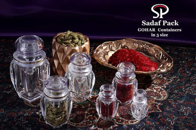 saffron packaging gohar
