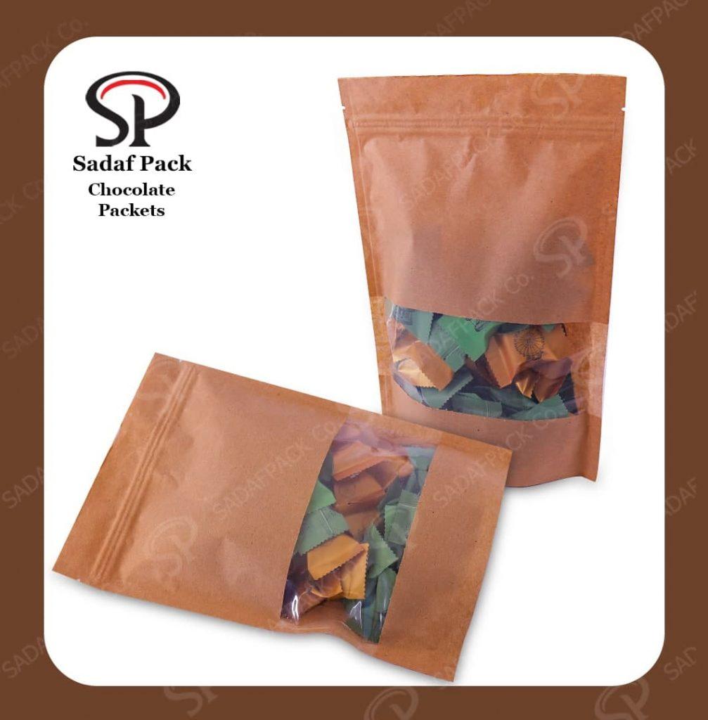 homemeade chocolate packaging design