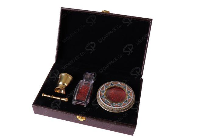 Khatam & Mortat & Azin Saffron Gift box