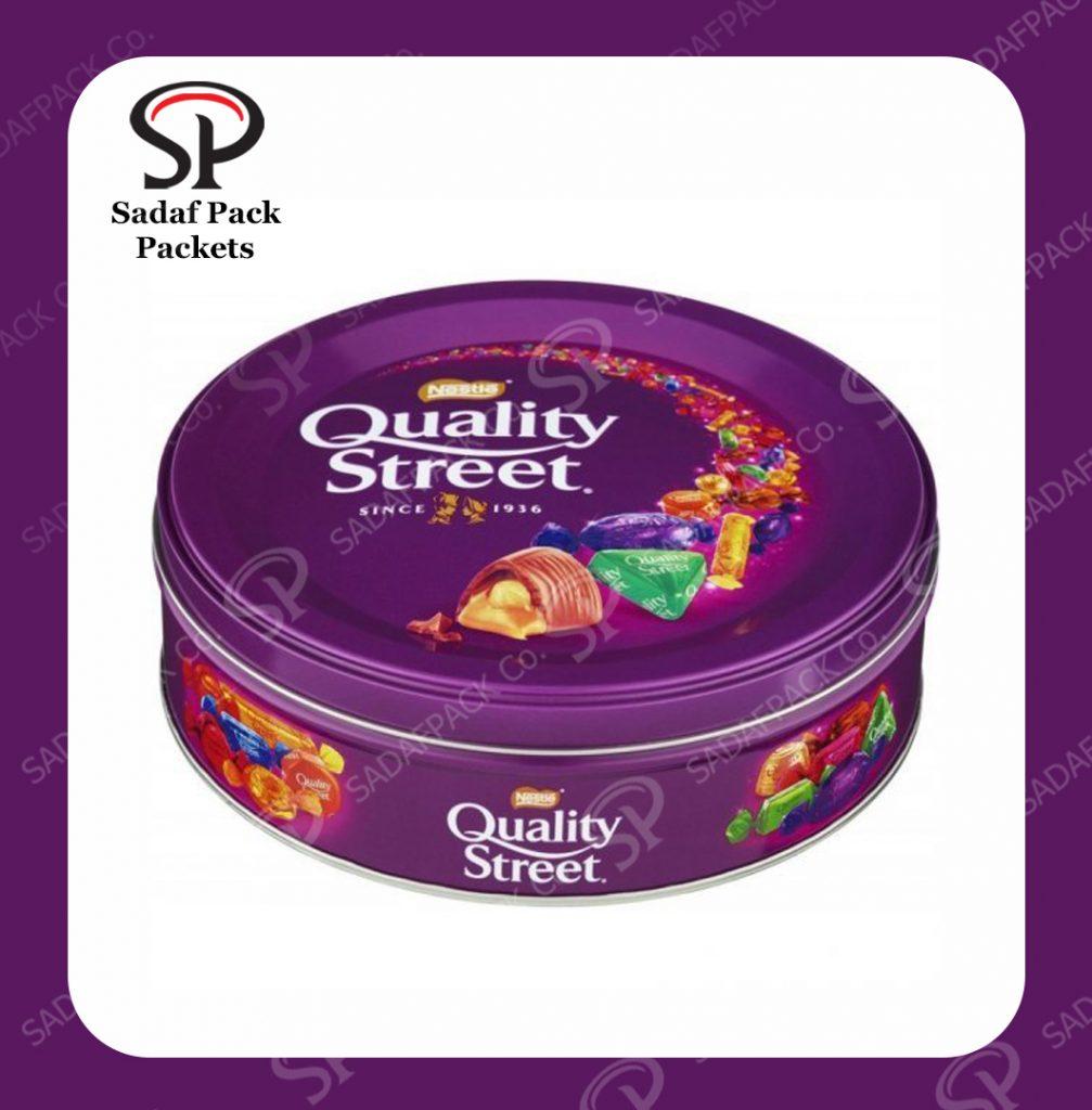 Chocolate bar packaging box