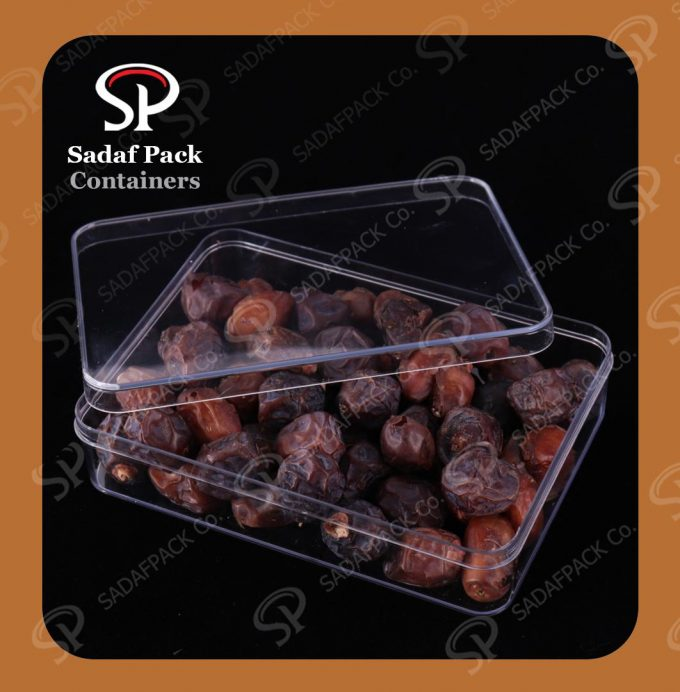 Poly-Crystal date packaging Container