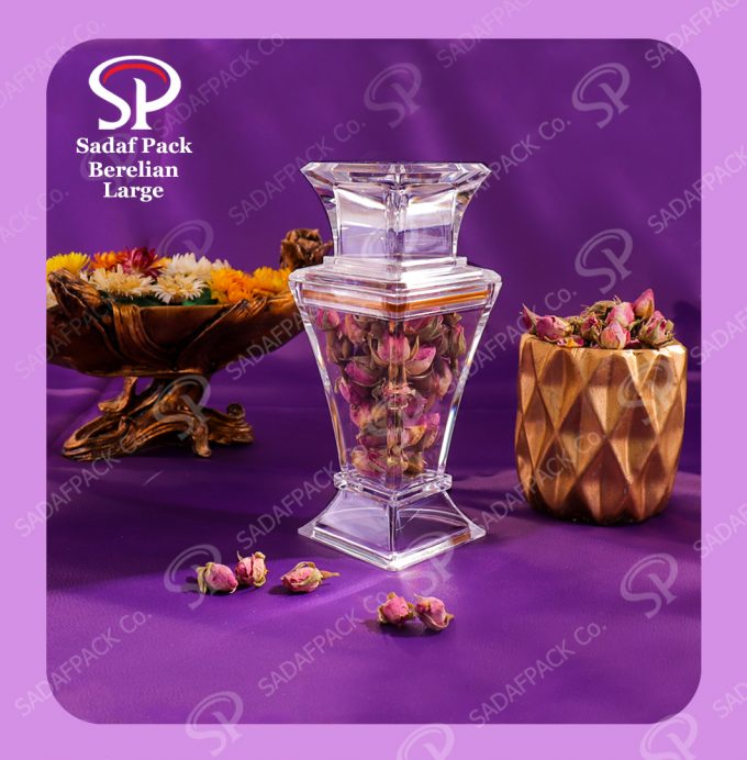 Berelian saffron container