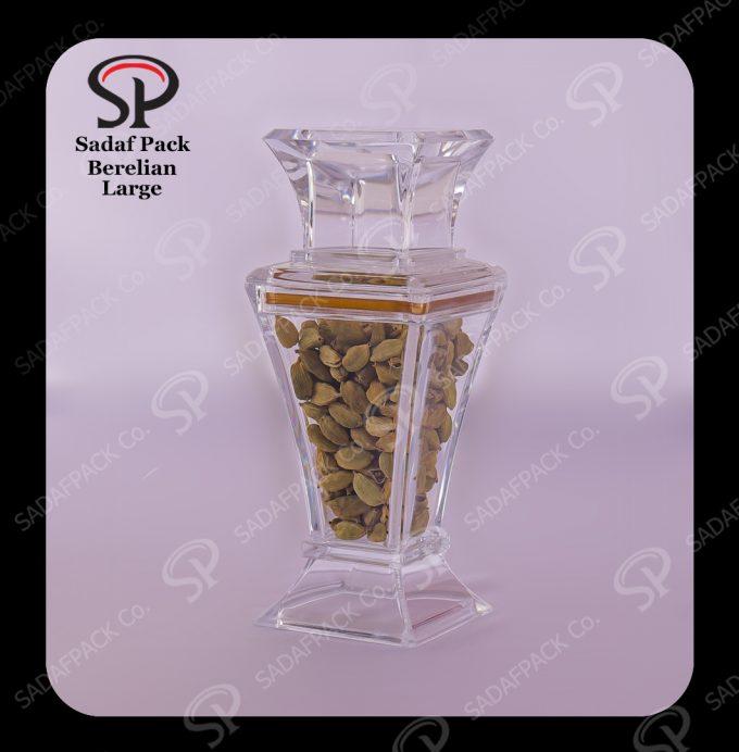 Saffron Container Berelian Design Size Large