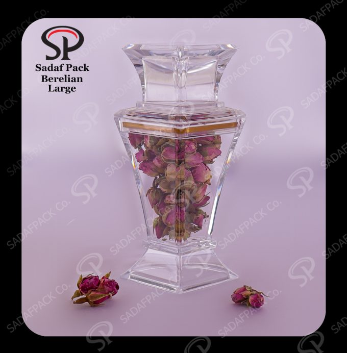 saffron packaging container
